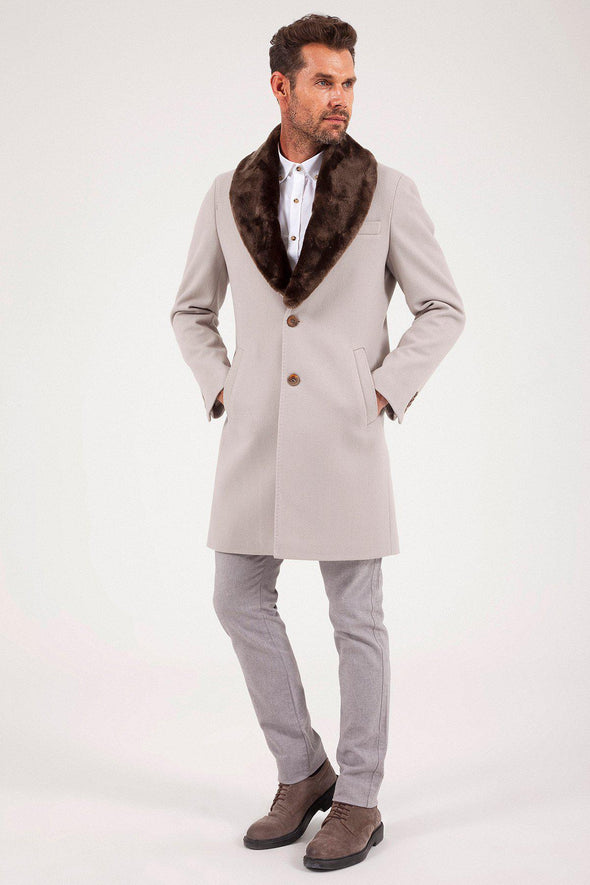 Sayki Men's Overcoat