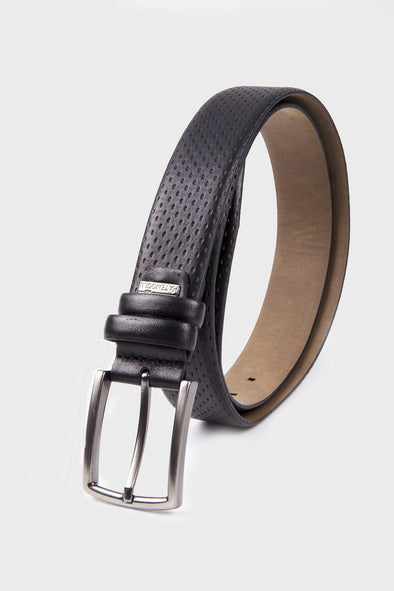 SAYKI Men's Classic Analin Leather Belt