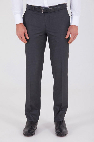 Sayki Men's Dynamic Fit Classic Charcoal Pant