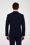 Sayki Men's Andrea Slim Fit Dark Navy Blazer