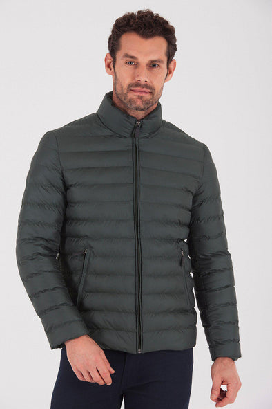 Sayki Men's Baltimore Tall Neck Jacket
