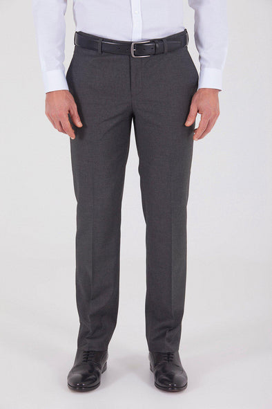 Sayki Men's Dynamic Fit Classic Dark Grey Pant