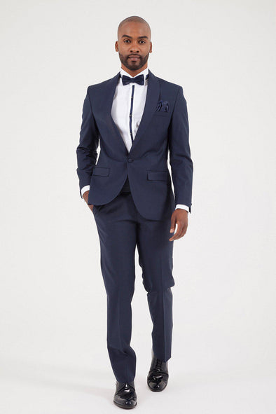 SAYKI Men's Bocelli Slim Fit Single Breasted Tuxedo