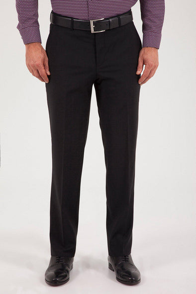 SAYKI Men's Dynamic Fit Wopes Classic Black Pant