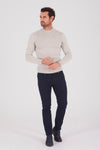Sayki Men's Mock Neck Knitwear