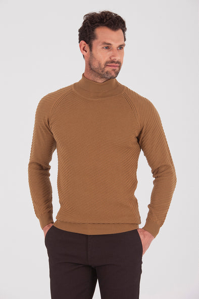 Sayki Men's Neck Knitwear