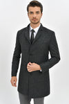 Sayki Men's Madrid Overcoat