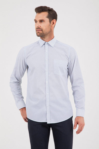 SAYKI Men's Regular Fit Classic Shirt