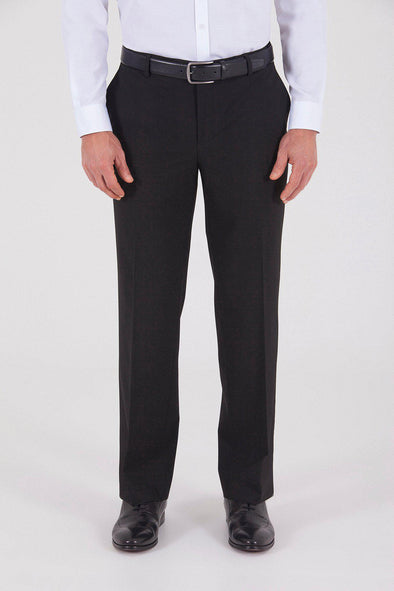 Sayki Men's Regular Fit Black Classic Pant