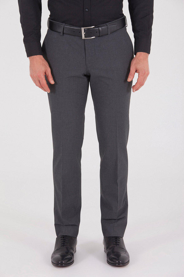 Sayki Men's Dynamic Fit Classic  Grey Pant