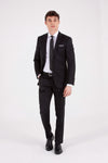 Sayki Men's Andrea Slim Fit Wool Suit