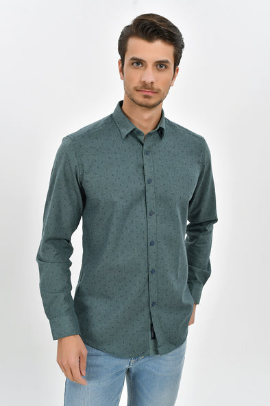 Sayki Men's Regular Fit Shirt