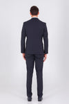 SAYKI Men's Single Breasted Slim Fit Andrea Suit
