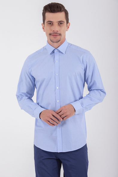 Sayki Men's Regular Fit Cotton Shirt