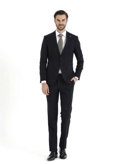 SAYKI Men's Armando Navy Suit