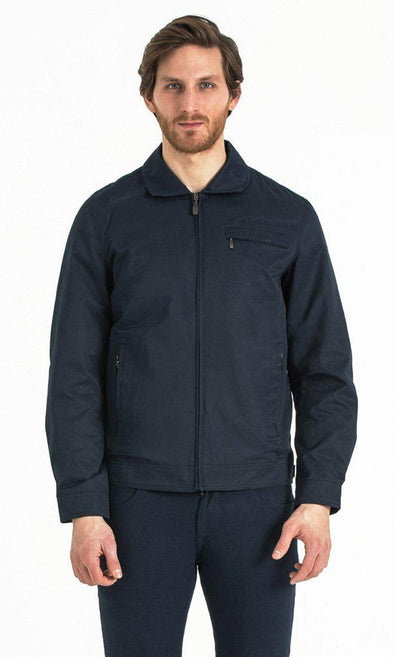 SAYKI Men's Seasonal Navy Jacket