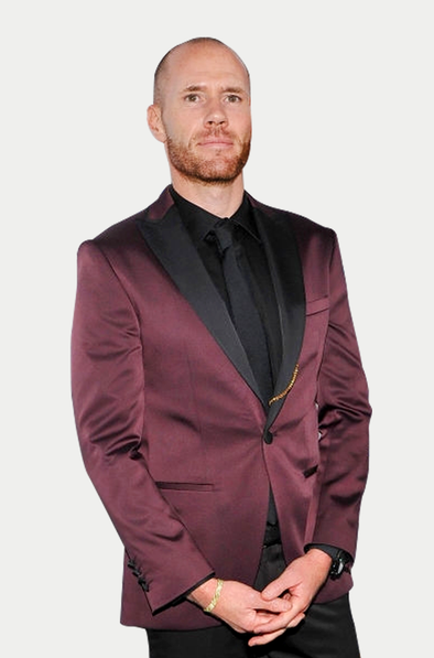 SAYKI Men's Slim Fit Burgundy Tuxedo - What Oliver Trevena Chose?-SAYKI MEN'S FASHION