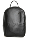 Black Faux Leather Backpack Default
