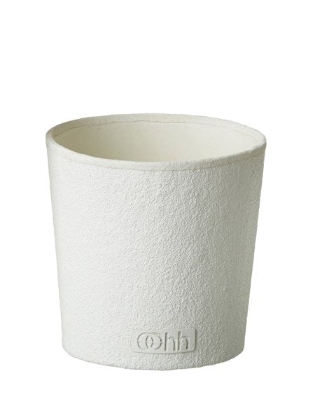 Conical Pot White