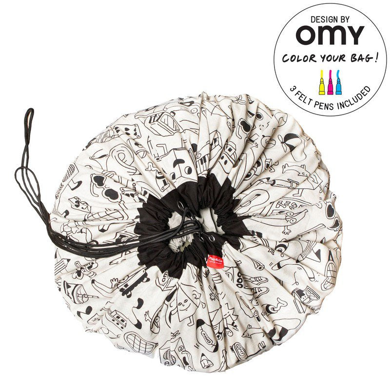 Play & Go OMY (colour your own) Storage Bag
