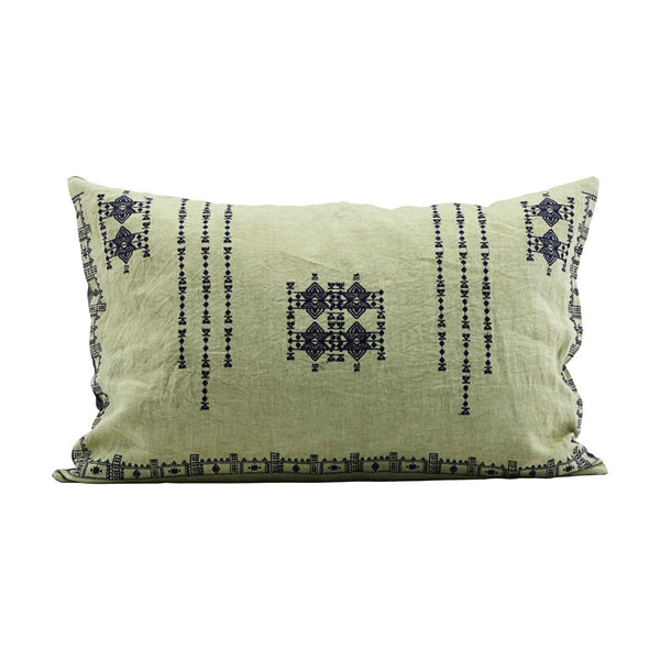 Inka Green Cushion