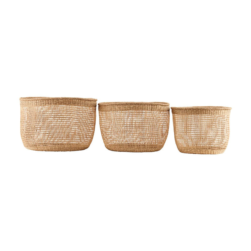 Set of 3 Baskets by House Doctor