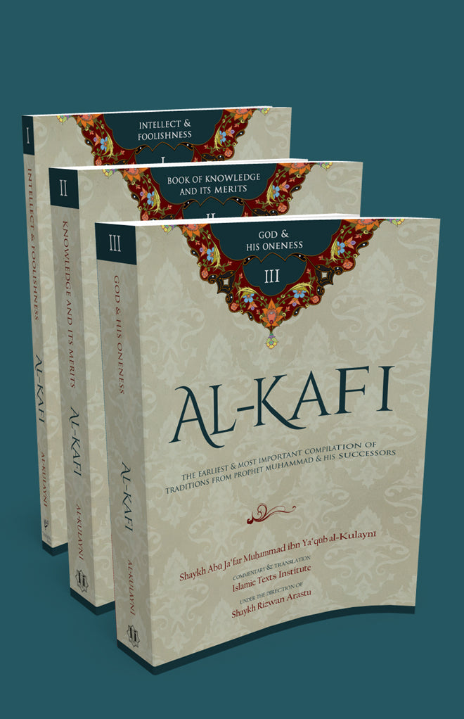 Al-Kafi Books I,II & III Set