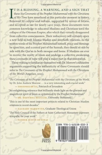 Six Covenants of the Prophet Muhammad with the Christians of his Time