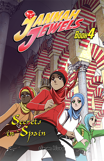 Jannah Jewels Book 4, Secrets in Spain