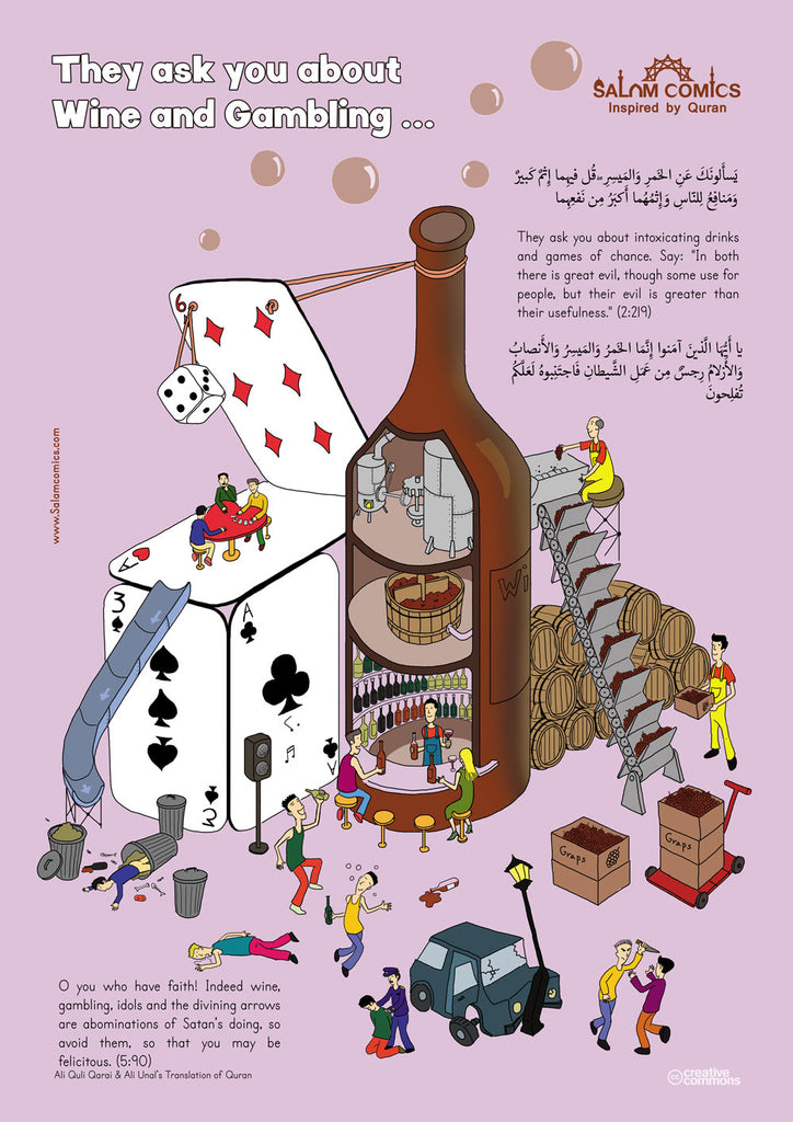 Wine and Gambling in Quran