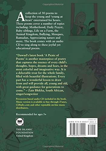A Picnic of Poems in Allahs Allah's Green Garden (Book & CD)