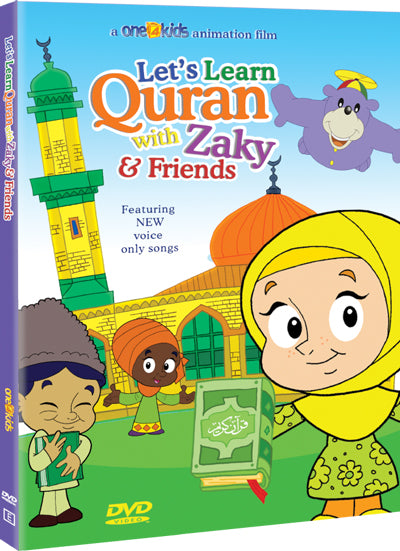 Let's Learn Quran with Zaky & Friends - Activity Fun Book Included