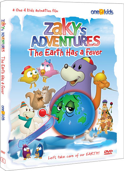 Zaky's Adventures The Earth Has a Fever