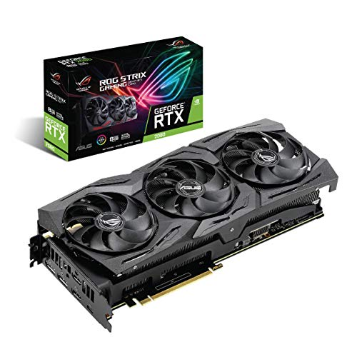 ASUS ROG Strix GeForce RTX 2080 8G GDDR6 HDMI DP 1.4 USB Type-C (ROG Strix RTX-2080-8G) Graphic Cards ROG-STRIX-RTX2080-8G-GAMING
