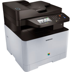 Samsung Xpress C1860FW Wireless Color Laser Printer with Scan/Copy/Fax, Simple NFC + WiFi Connectivity and Built-in Ethernet, Amazon Dash Replenishment Enabled (SS205H)