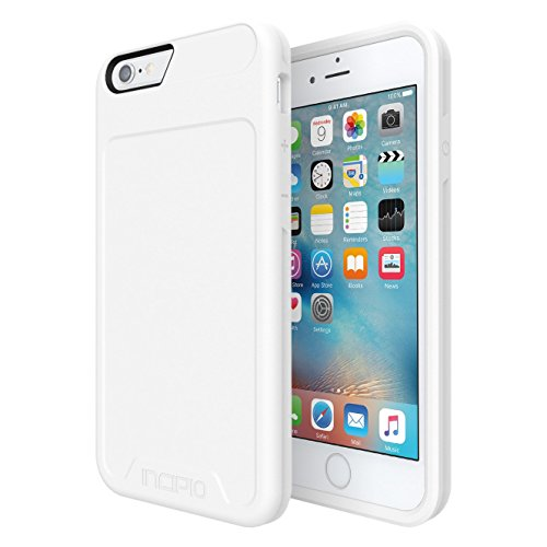 iPhone 6S Case, Incipio [Performance] Series Level 1 [Shock Absorbing] Bumper Cover fits Both iPhone 6, iPhone 6S - White
