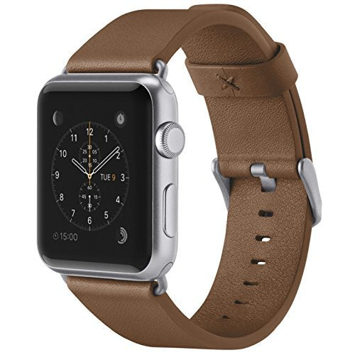 Belkin Classic Leather Wristband for Apple Watch Series 2 and Apple Watch Series 1 (42 mm), Tan