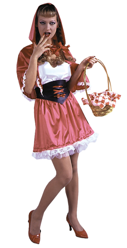 Morris Costumes Red Hot Riding Hood 4 14