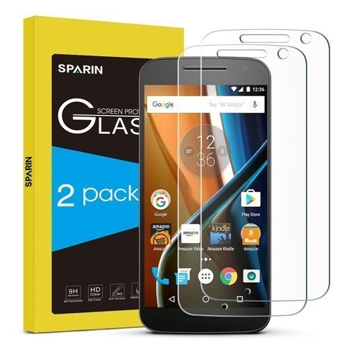 Arclyte Technologies MPA04765 This Sparin Tempered Glass Screen Protector [2 Pack] is Specially Designed for Y