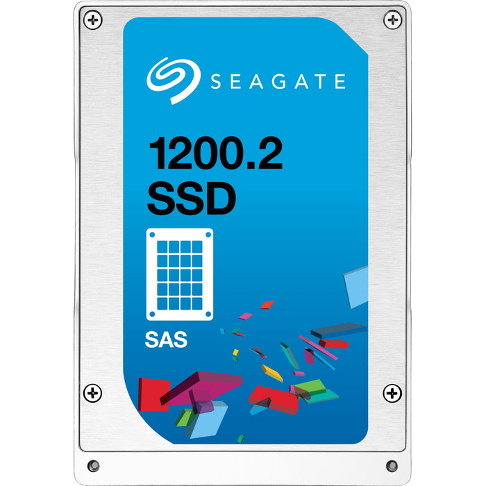 Seagate 1200.2 ST1600FM0083 1.56 TB 2.5 Internal Solid State Drive - SAS - 5 Pack