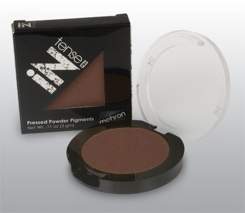 Mehron INtense Pro Pressed Powder - Turbulent (Brown)