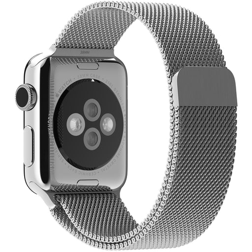 Apple Milanese Loop Band (38mm, Silver) for an Apple Watch