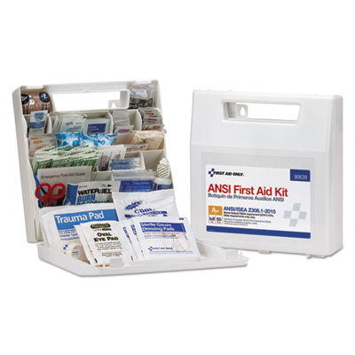 First Aid Only 90639 50 Person Bulk ANSI A+ First Aid Kit