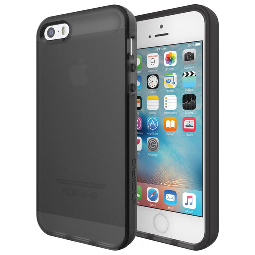 Incipio NGP Case for iPhone SE, iPhone 5, and iPhone 5S - Translucent Black