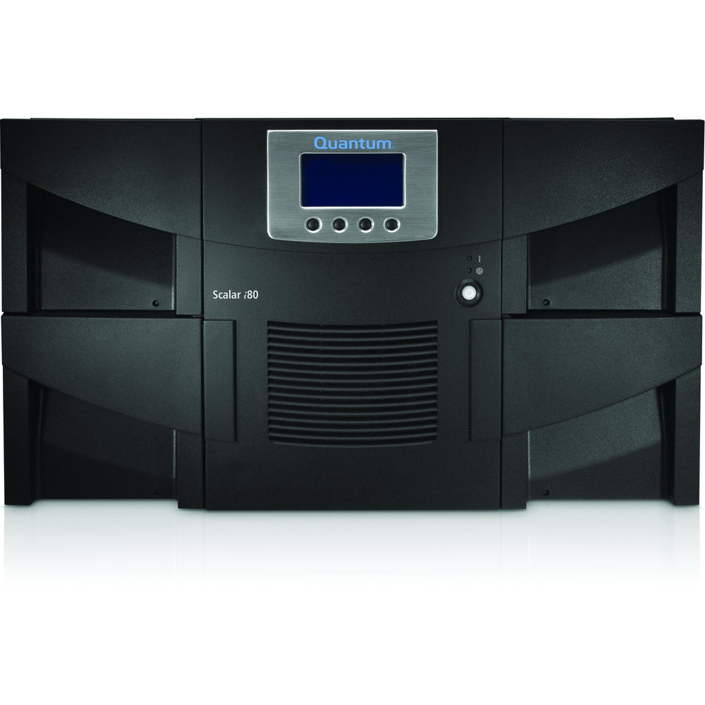 Quantum Scalar i80 Tape Autoloader - 1 x Drive/50 x Slot - LTO-7 - 312.50 TB (Native) - SAS - Encryption - 6URack-mountable