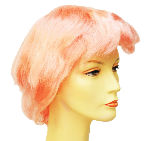 FRIGHT WIG DARK PINK