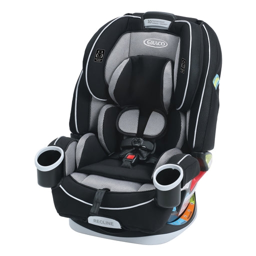 Graco 4ever All-in-One Car Seat, Matrix - 10 Year Use with 1 Car Seat - 6 Position Recline - Steel Reinforced Frame - Fuss Free Harness - 2 Integrated Cupholders