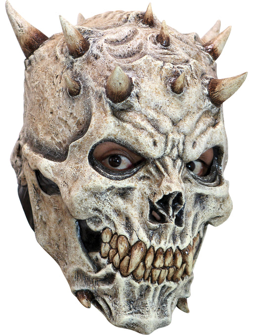 Adult Spikes Skeleton Costume Mask