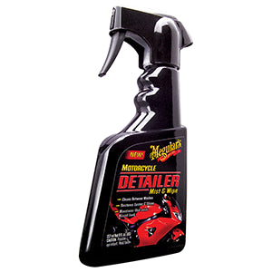 Meguiar's MC20108 Motorcycle Detailer Mist & Wipe - 8 oz.