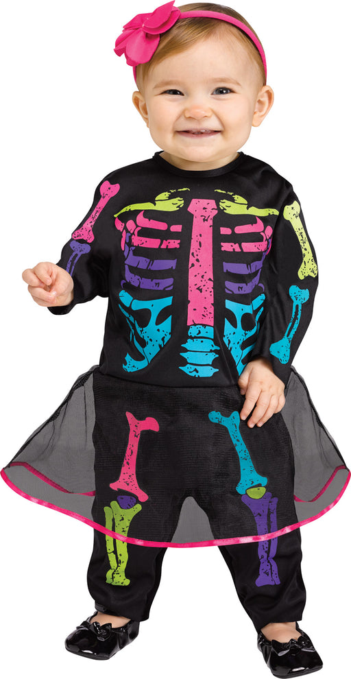 Girl's Baby Skeleton Costume